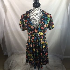 Maeve by Anthropologie Bloedel Floral Dress Size 6